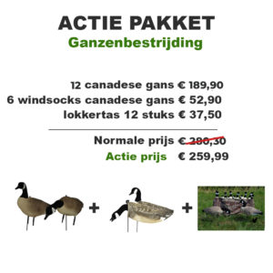 Kanadagans Lockgänse Action-Pack