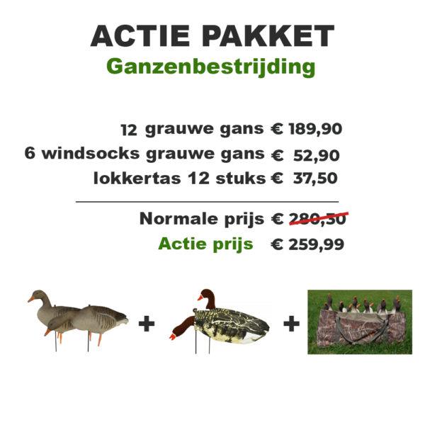 Graugänse Lockgänse Action-Pack